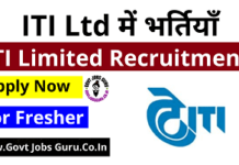 ITI Ltd Recruitment - Govt Jobs Guru